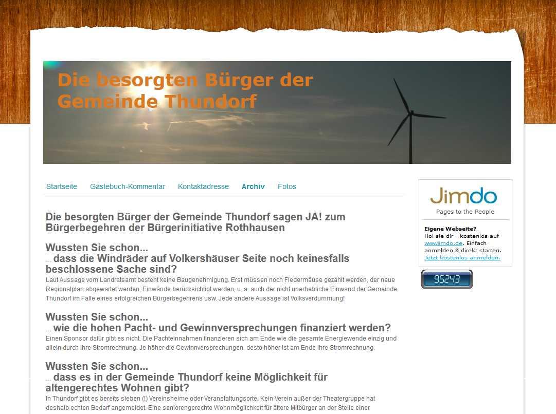 """IG """"besorgte Bürger"""""""