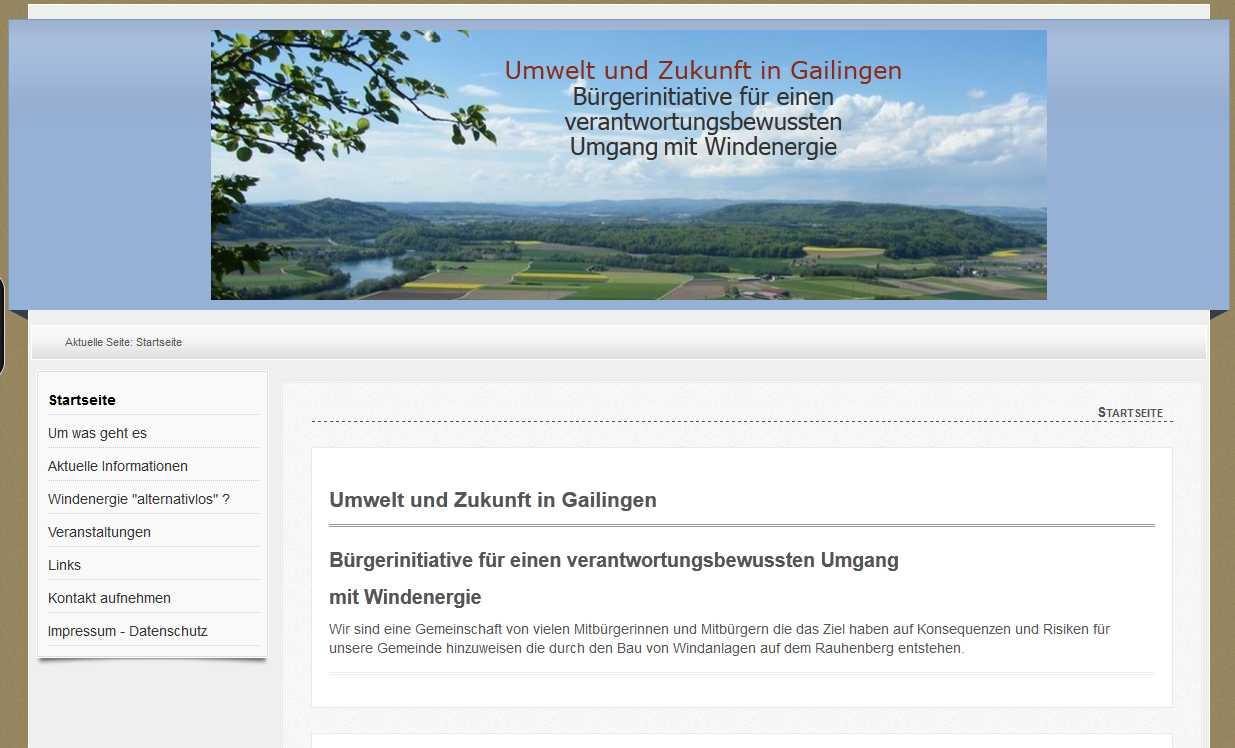 Umwelt und Zukunft in Gailingen