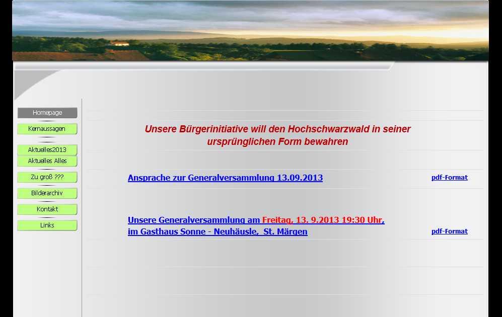 zum Schutz des Hochschwarzwald e.V.