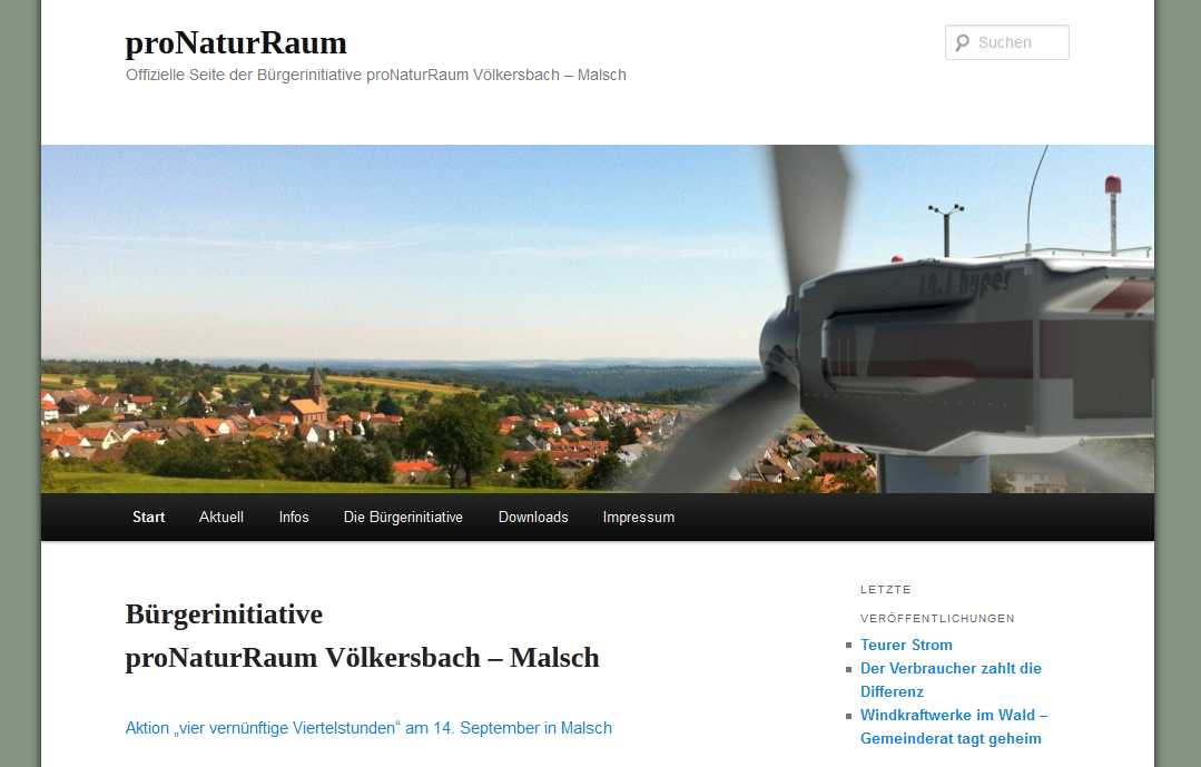 pro Naturraum Völkersbach-Malsch