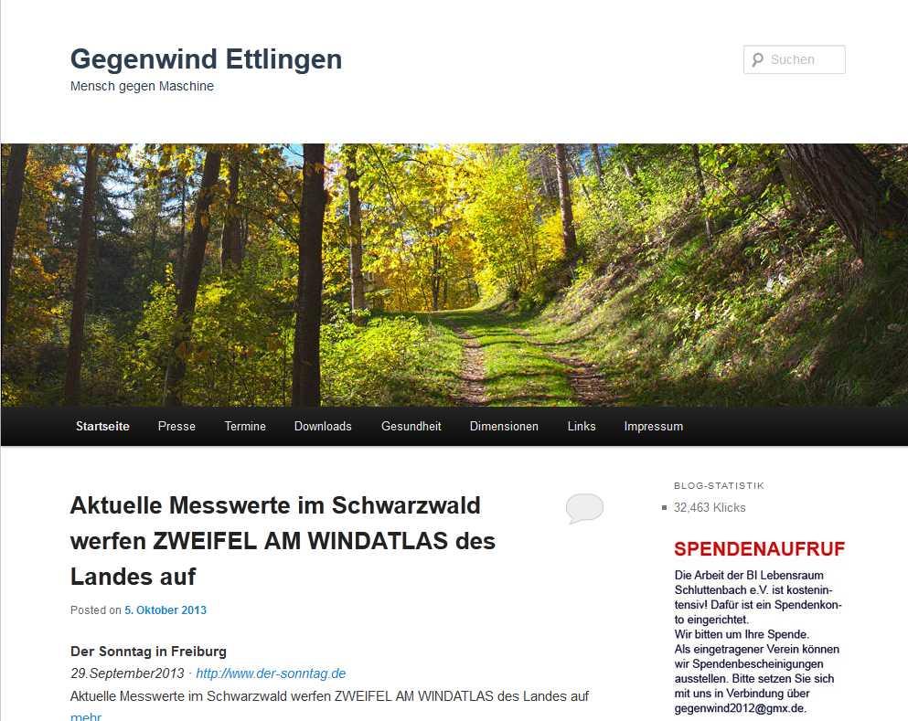 Gegenwind Ettlingen