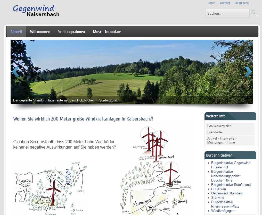 Gegenwind Kaisersbach
