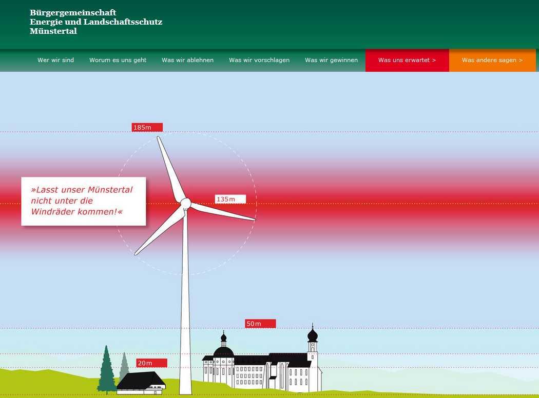 Energie u. Landschaftsschutz Münstertal