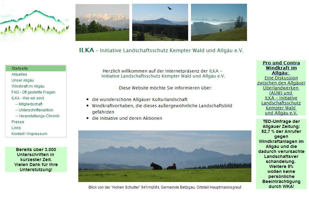 Ilka Initiative Landschaftsschutz Kempter Wald u. Allgäu e.V