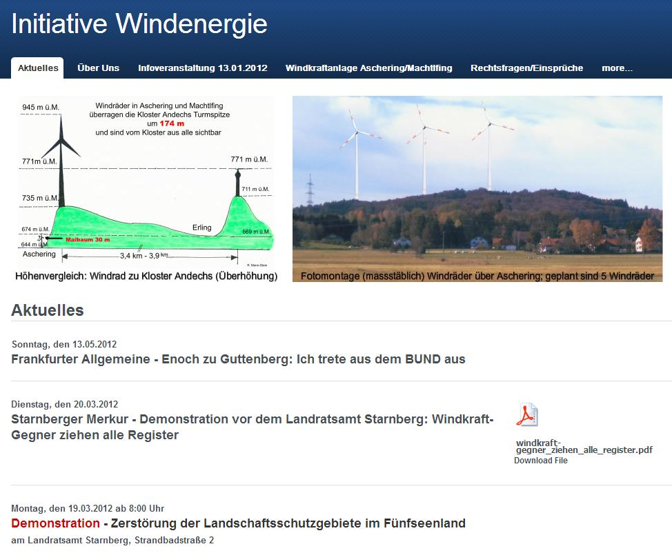 Initiative Windenergie (Voralpenland)