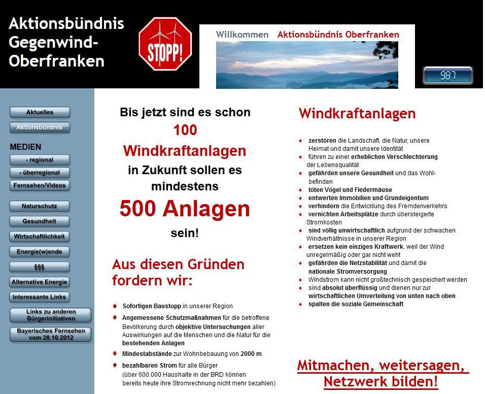 Aktionsbündnis Gegenwind-Oberfranken