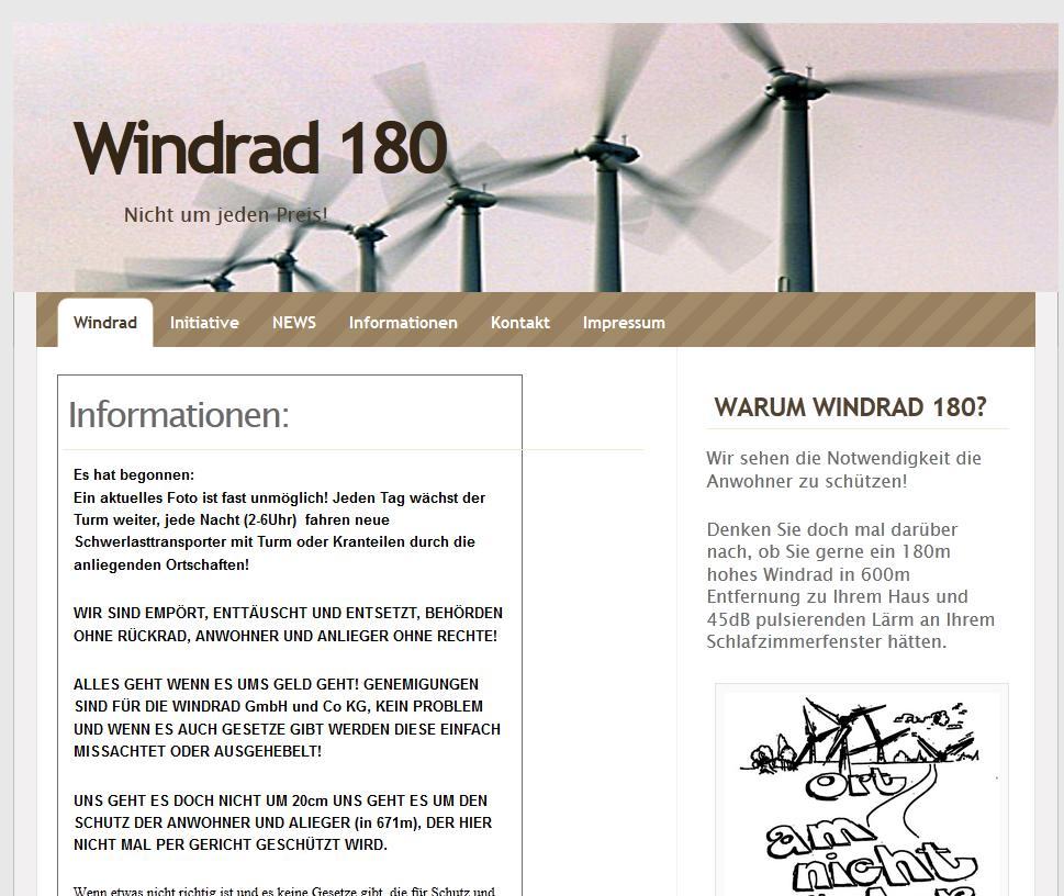 Windrad 180