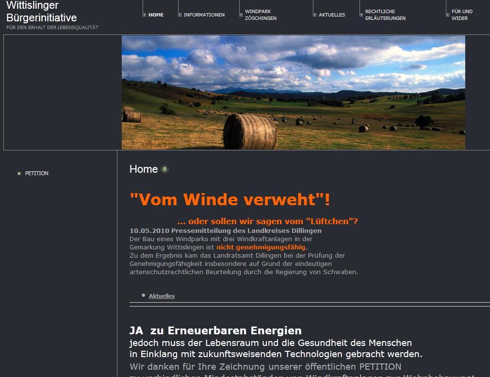 Wittislinger Bürgerinitiative