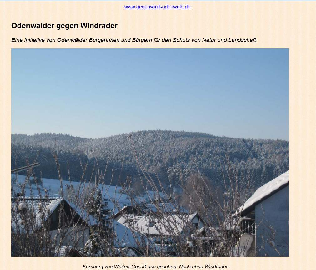 BI Gegenwind Odenwald (Michelstadt)