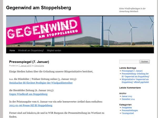 BI Gegenwind Stoppelsberg