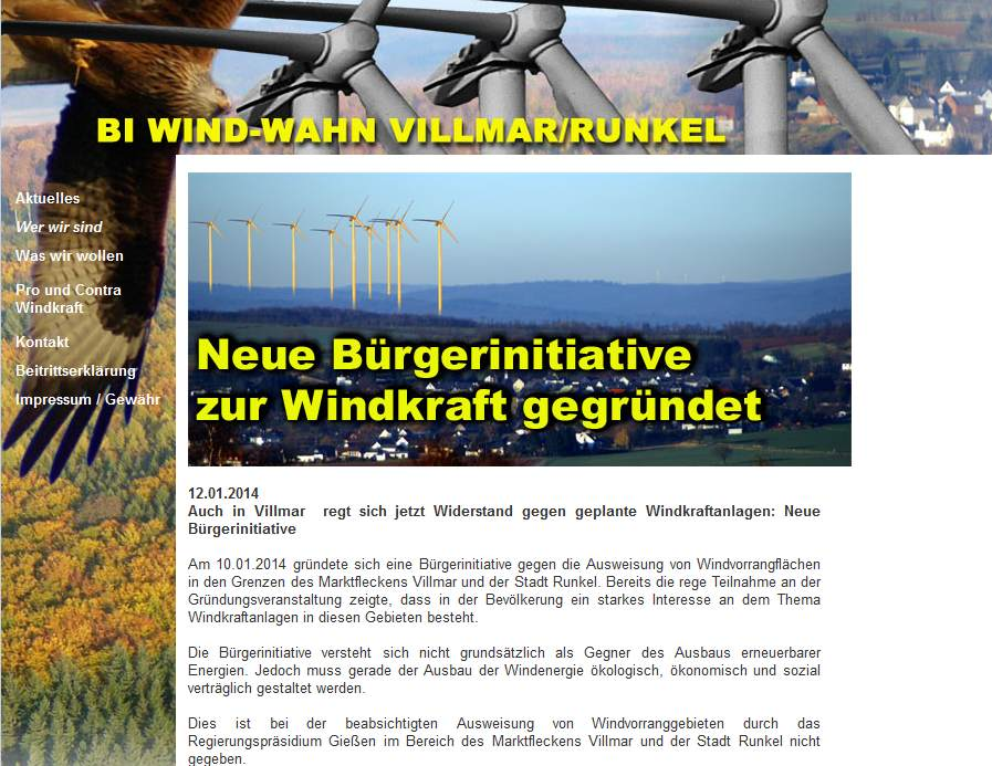BI Gegenwind Villmar Runkel
