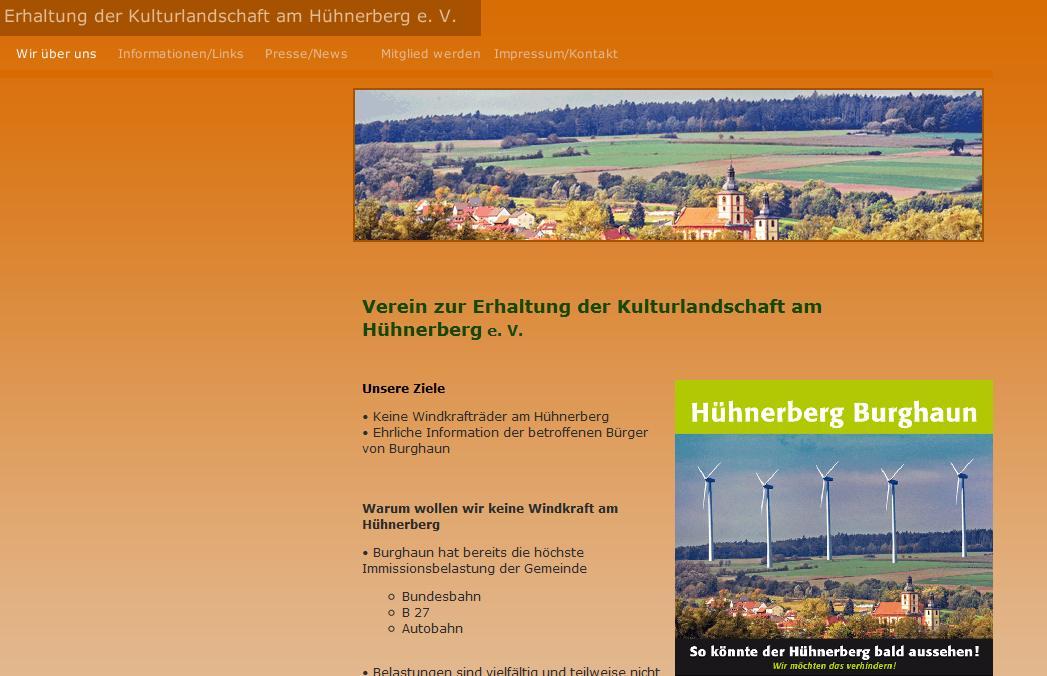 Erhaltung der Kulturlandschaft am Hühnerberg e. V. Burghaun