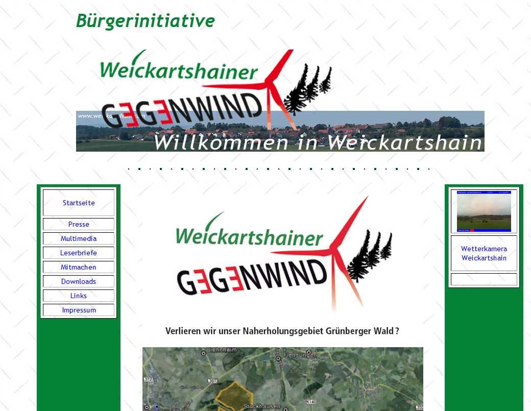 Weikartshainer Gegenwind