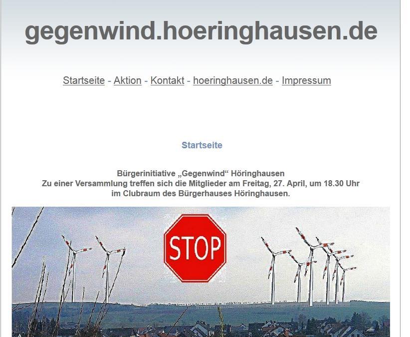 BI Gegenwind Höringhausen