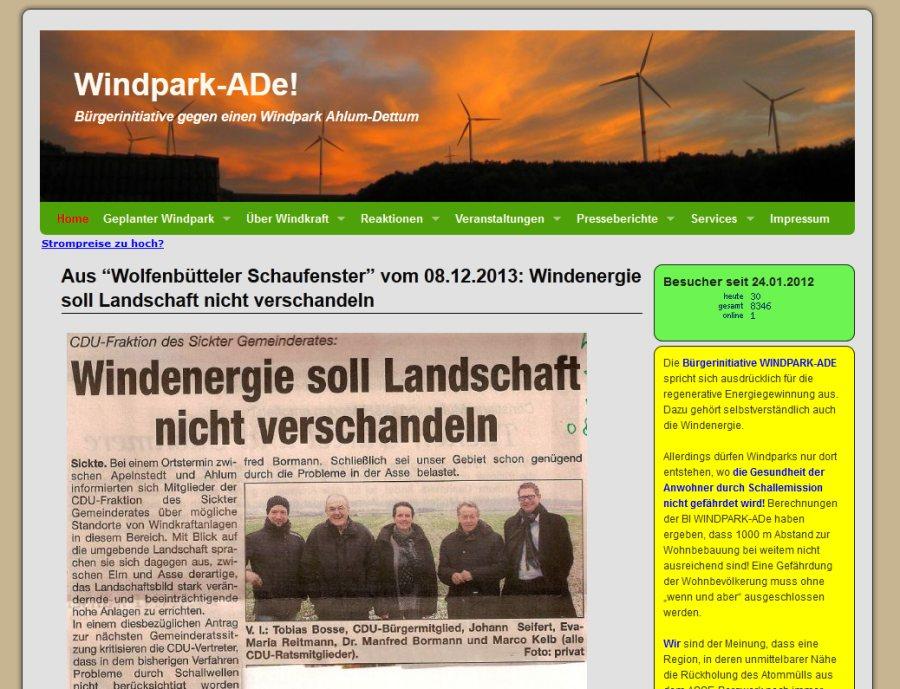 Windpark-ADe!