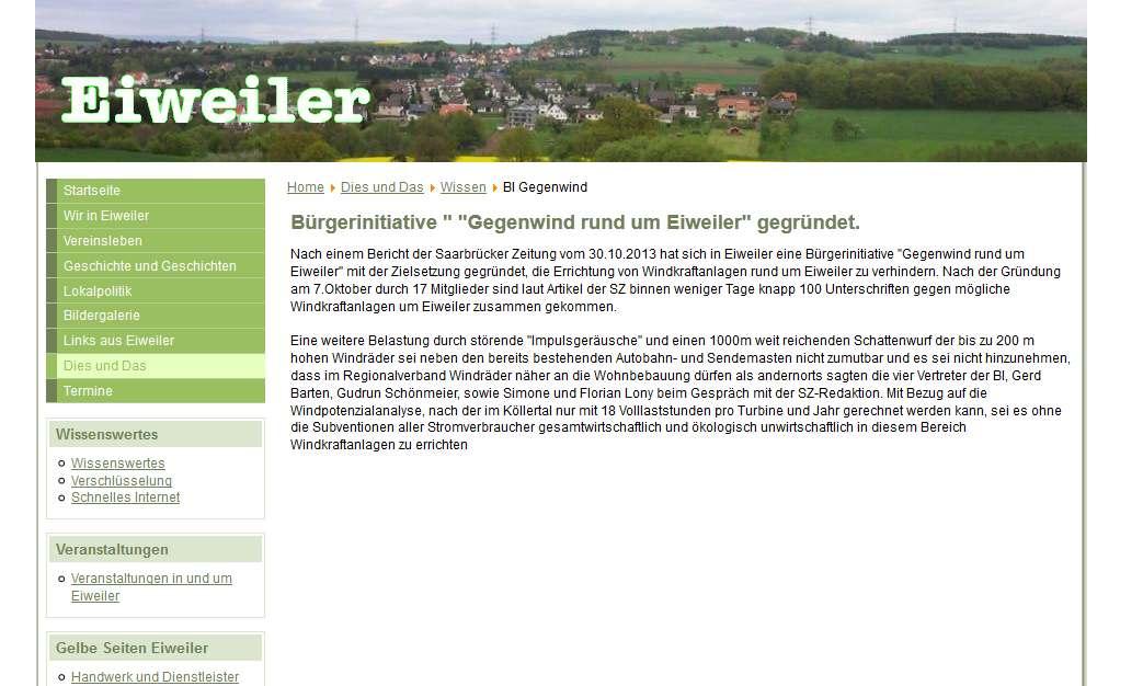 BI Heusweiler Eiweiler