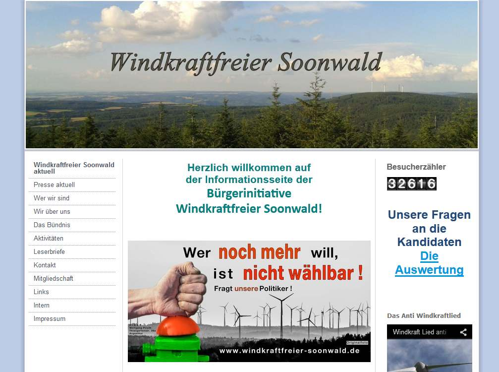Windkraftfreier Soonwald