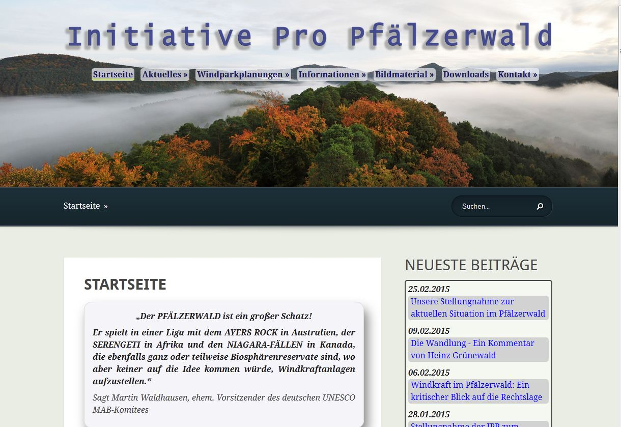 Initiative Propfälzerwald