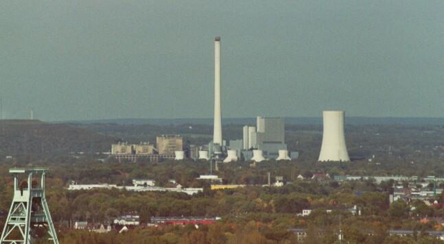 Steinkohle-Kraftwerk Herne