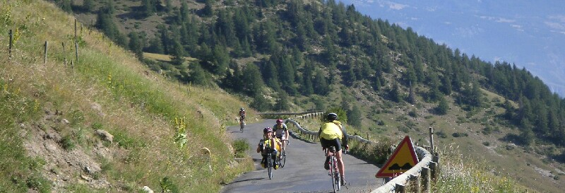 am autofreien Freitag in den Ferienmonaten Juli und August am Col d'Allos