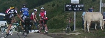 am Col d'Aspin