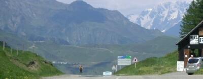 am Col de Peyresourde, im Hintergrund der Col d'Azet